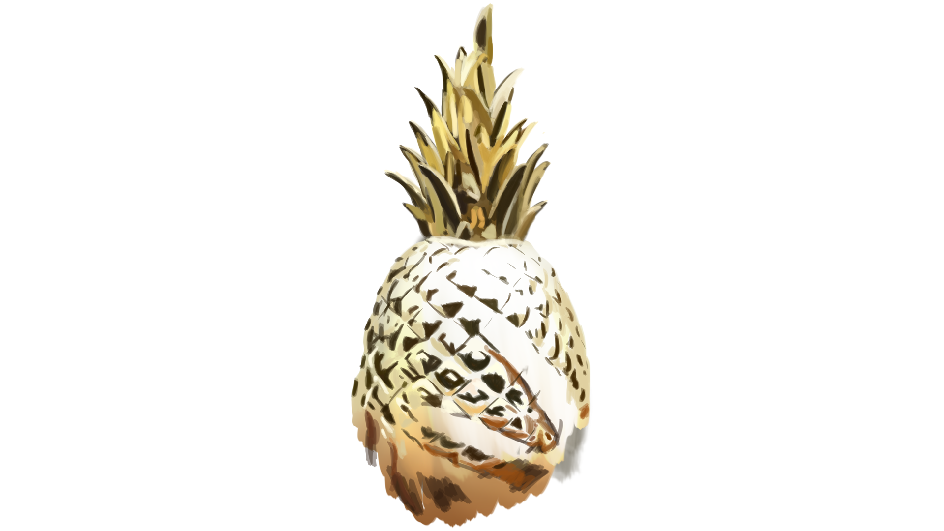 Drawing Andrew Huang detail - 100% Pineapple